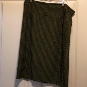 Beautiful Olive green Cassie skirt